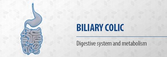 Biliary colic