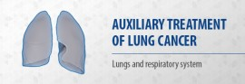 Auxiliary treatment of lung cancer