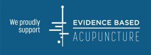 We proudly support Evidence Based Acupuncture
